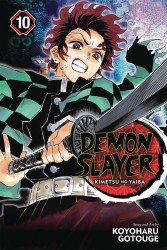Viz Media's Demon Slayer: Kimetsu No Yaiba Soft Cover # 10