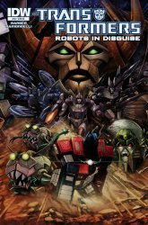 IDW Publishing's Transformers: Robots in Disguise Issue # 34ri