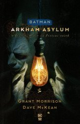 DC Comics's Batman: Arkham Asylum Soft Cover # 1f