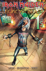 Heavy Metal's Iron Maiden: Legacy Of The Beast - Night City Issue # 1