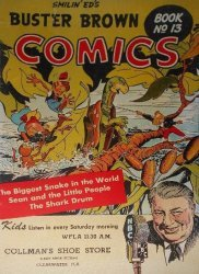 Buster Brown Shoes's Buster Brown Comics Issue # 13collmans