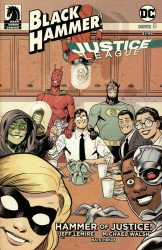 Dark Horse Comics's Black Hammer / Justice League: Hammer of Justice Issue # 3d
