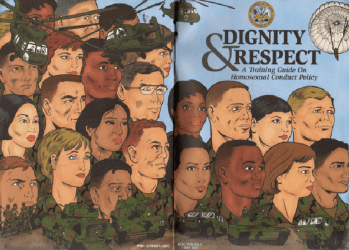 United States Army's Dignity & Respect: A Training Guide on Homosexual Conduct Policy Issue nn
