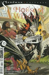 Vertigo's House of Whispers Issue # 13