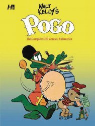 Hermes Press's Walt Kelly's Pogo: The Complete Dell Comics  Hard Cover # 6
