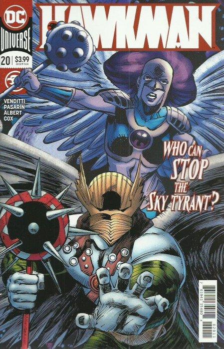 Hawkman #1 DC Universe 2018 Series 9.6 Near Mint+