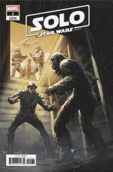 Marvel Comics's Solo a Star Wars Story Adaptation Issue # 1c