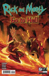 Oni Press's Rick and Morty: Go to Hell Issue # 2