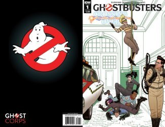 IDW Publishing's Ghostbusters: Crossing Over Issue # 1