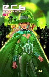 Hyperwerks Comics's E.C.B: Emerald City Blues Issue # 1