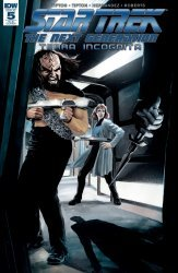 IDW Publishing's Star Trek: The Next Generation - Terra Incognita Issue # 5ri-b