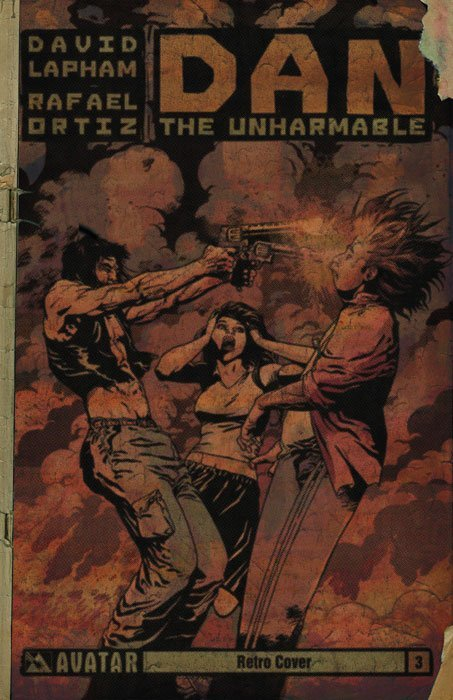 Avatar Presss Dan The Unharmable Issue 3c