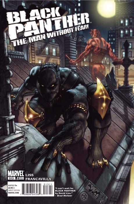 Black Panther: The Man Without Fear 513 (Marvel Comics ...: https://comicbookrealm.com/series/27307/0/black-panther-the-man-without-fear