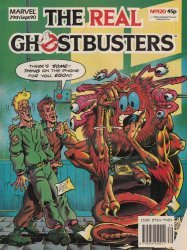 Marvel UK's The Real Ghostbusters Issue # 120