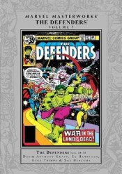 Marvel Comics's Marvel Masterworks: Defenders Hard Cover # 7