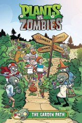 Dark Horse Comics's Plants vs Zombies: The Garden Path Hard Cover # 1