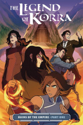 Dark Horse Comics's Legend of Korra: Turf Wars TPB # 4