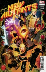Marvel Comics's New Mutants Issue # 1