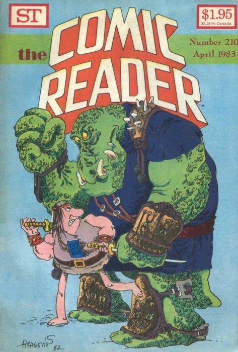 The Comic Reader Issue # 205 (Street Enterprises)