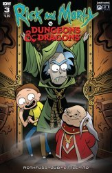 IDW Publishing's Rick and Morty vs Dungeons & Dragons Issue # 3