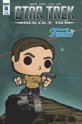 IDW Publishing's Star Trek: Boldly Go Issue # 8b