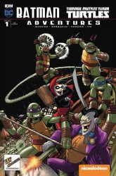 IDW Publishing's Batman / Teenage Mutant Ninja Turtles Adventures Issue # 1anastasia-b