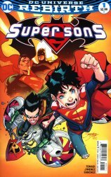 DC Comics's Super Sons Issue # 1