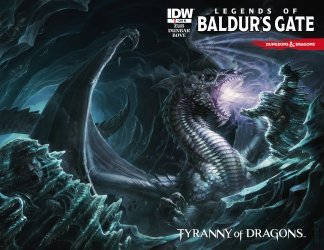 IDW Publishing's Dungeons & Dragons: The Legends of Baldurs Gate Issue # 1ri