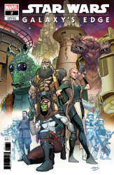Marvel Comics's Star Wars: Galaxy's Edge Issue # 2b