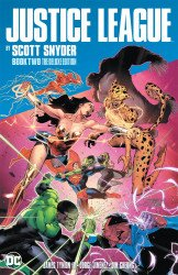 DC Comics's Justice League: By Scott Snyder Hard Cover # 2
