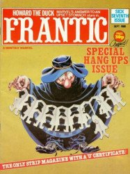 Marvel UK's Frantic Issue # 7