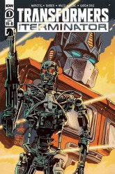 IDW Publishing's Transformers vs. Terminator Issue # 1ri-b