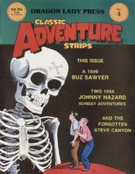 Dragon Lady Press's Classic Adventure Strips Issue # 4