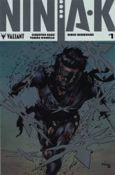 Valiant Entertainment's Ninja-K Issue # 1e