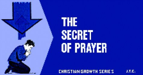 Chick Publications's The Secret of Prayer Issue nn