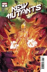 Marvel Comics's New Mutants Issue # 8