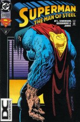 DC Comics's Superman: Man of Steel Issue # 33b