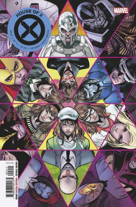 SOLD OUT! Marvel House of X #2 2nd Print Pepe Larraz Variant NM//M