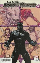 Marvel Comics's Black Panther and the Agents of Wakanda Issue # 1e