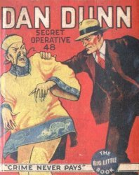 Whitman's Dan Dunn, Secret Operative 48: Crime Never Pays Soft Cover nn