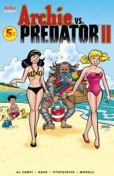Archie Comics Group's Archie vs Predator 2 Issue # 5e