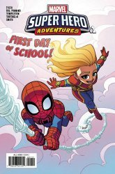 Marvel Comics's Marvel Super Hero Adventures: Captain Marvel - First Day of School Issue # 1