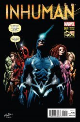 Marvel's Inhuman Issue # 7b