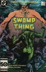 DC Comics's Saga of the Swamp Thing Issue # 38