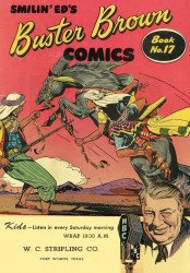 Buster Brown Shoes's Buster Brown Comics Issue # 17wc stripling