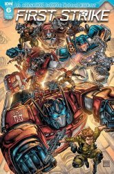 IDW Publishing's First Strike Issue # 6