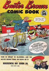 Buster Brown Shoes's Buster Brown Comics Issue # 34rosenzweig