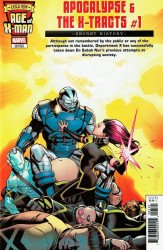 Marvel Comics's Age of X-Man: Apocalypse and the X-Tracts Issue # 1e