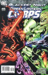 DC Comics's Green Lantern Corps Issue # 45