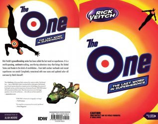 IDW Publishing's Rick Veitch's The One Hard Cover # 1